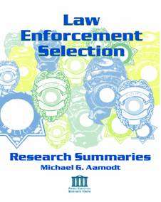 law enforcement research papers 2017-10-26  police code of ethics research papers discuss the code of ethics followed by the law enforcement community.